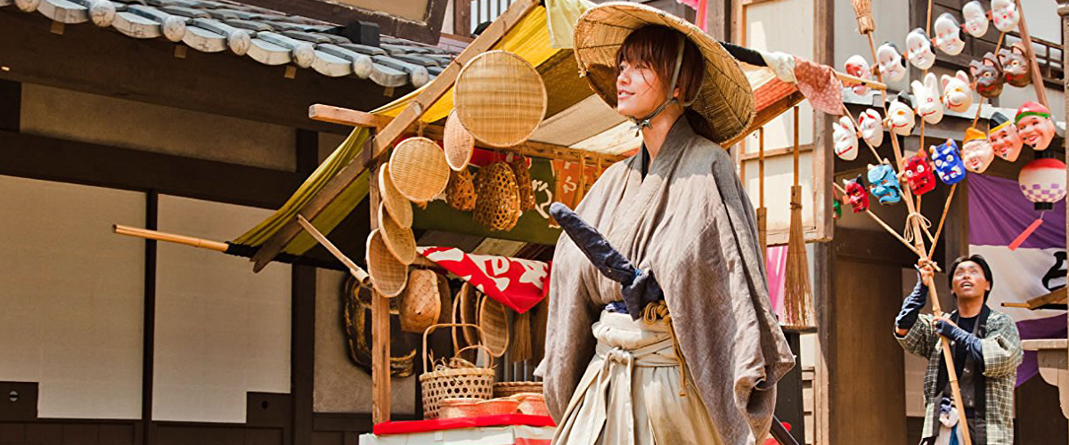 RURÔNI KENSHIN: Meiji kenkaku roman tan (2012)